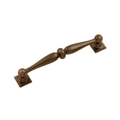 Hickory Hardware Somerset 5-1/16 Inch Center to Center Dark Antique Copper Cabinet Pull HH74638-DAC