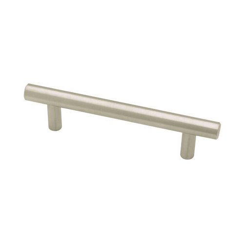 Liberty Hardware Bauhaus 3-3/4 Inch Center to Center Stainless Steel Cabinet Pull P02100-SS-C