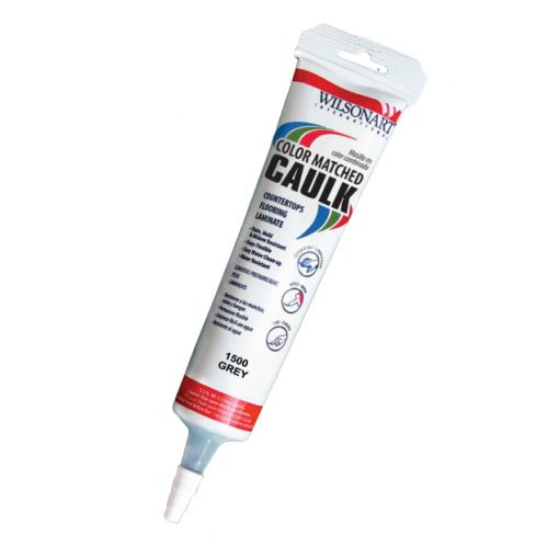 Wilsonart Caulk 5.5 oz Tube - Grey Pampas (4168) WA-D391-5OZCAULK