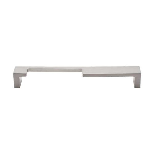 Top Knobs Sanctuary II 7 Inch Center to Center Brushed Satin Nickel Cabinet Pull TK257BSN
