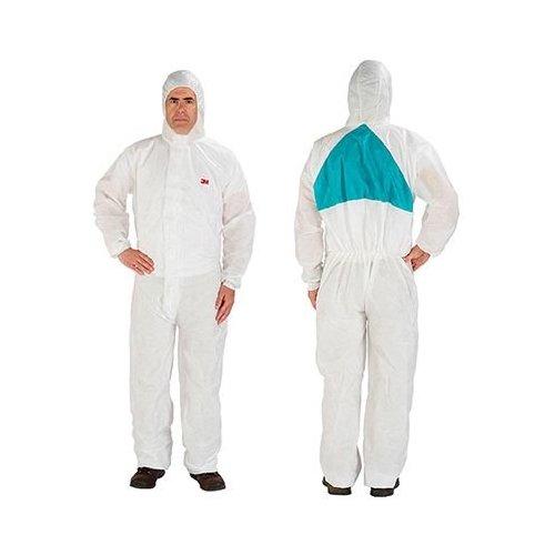 3M 4520 2XL Size Protective Coveralls White 4520 XXL