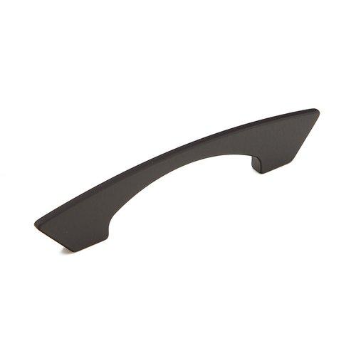 Schaub and Company Italian Designs-Profile 3-3/4 Inch Center to Center Matte Black Cabinet Pull 247-096-MB