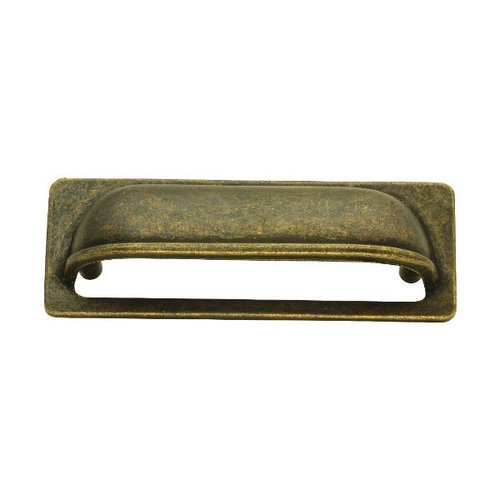 Hickory Hardware Oxford Antique 3 Inch Center to Center Windover Antique Cabinet Cup Pull PA1023-WOA