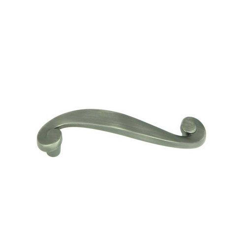 Stone Mill Hardware Newbury 3 Inch Center to Center Weathered Nickel Cabinet Pull CP1007-WEN