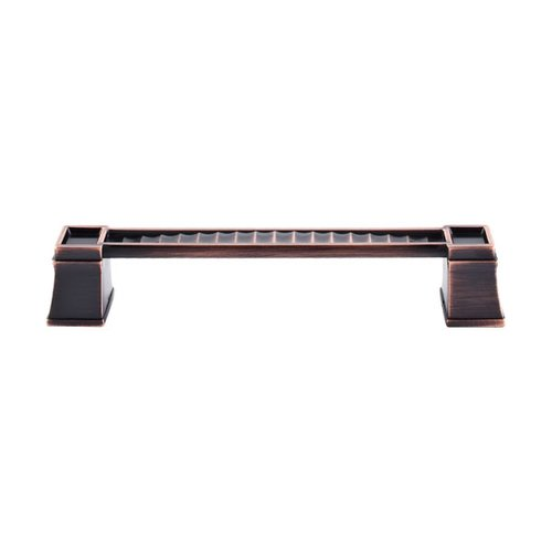 Top Knobs Great Wall 6 Inch Center to Center Tuscan Bronze Cabinet Pull TK188TB