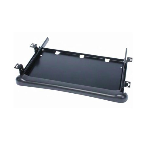 Knape and Vogt KD-100 Adjustable Keyboard Tray - Black KD-100