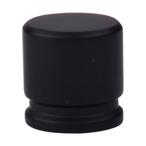 Top Knobs Sanctuary 1-1/8 Inch Length Flat Black Cabinet Knob TK59BLK