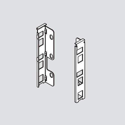 Blum Legrabox K Rear Fixing Bracket Set Left/Right Orion Gray ZB7K000S