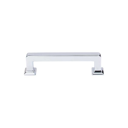 Transcend 3-3/4 Inch Center to Center Polished Chrome Cabinet Pull <small>(#TK703PC)</small>