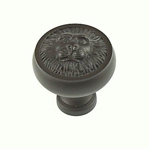 Century Hardware Roman 1-1/4 Inch Diameter Oil Rubbed Bronze Cabinet Knob 19306-10B