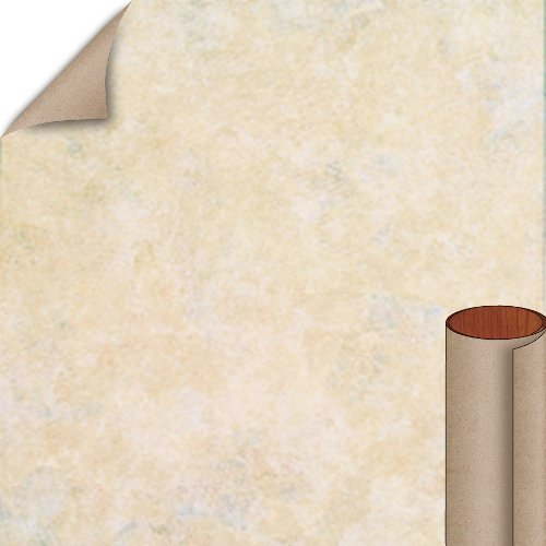 Nevamar Creme Tranquility Textured Finish 4 ft. x 8 ft. Vertical Grade Laminate Sheet TQ2001T-T-V3-48X096