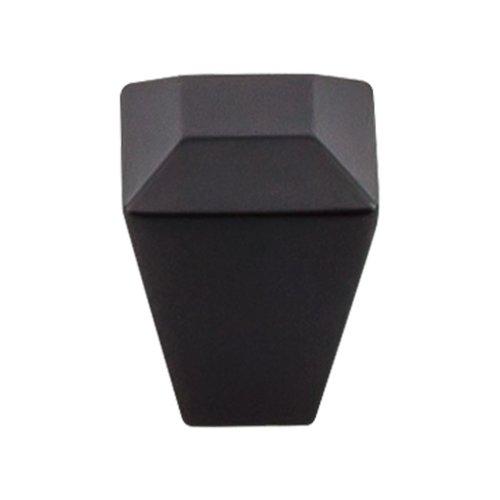 Top Knobs Serene 1 Inch Diameter Flat Black Cabinet Knob TK811BLK