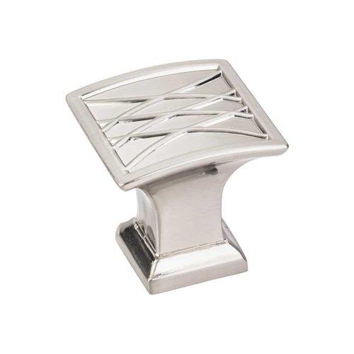 Jeffrey Alexander Aberdeen 1-1/4 Inch Diameter Satin Nickel Cabinet Knob 535SN