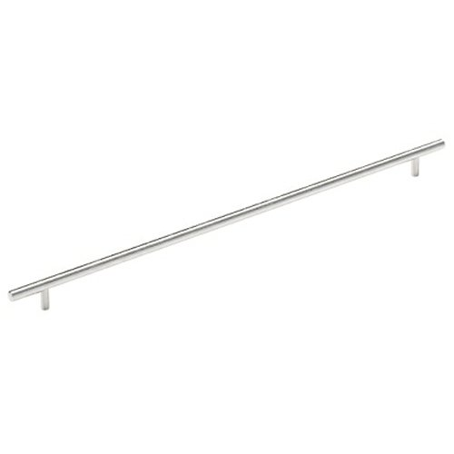 Amerock Bar Pulls 18-7/8 Inch Center to Center Stainless Steel Cabinet Pull BP19016SS
