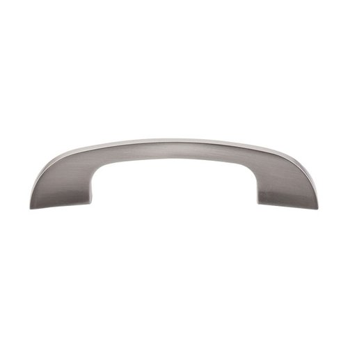 Top Knobs Sanctuary 4 Inch Center to Center Brushed Satin Nickel Cabinet Pull TK41BSN