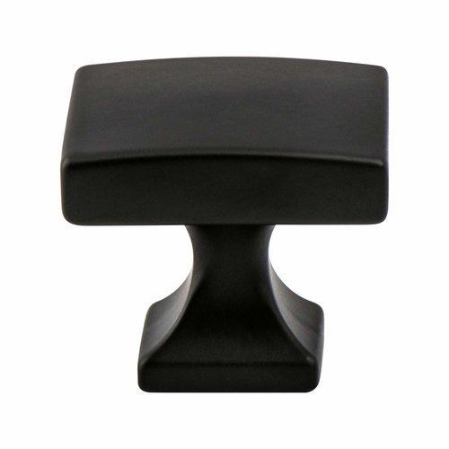 Berenson Century Edge Knob 1-3/8 inch Diameter Matte Black 1203-1055-P