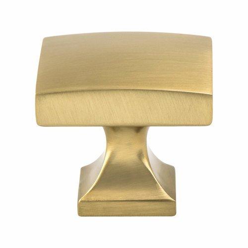 Berenson Century Edge Knob 1-3/8 inch Diameter Modern Brushed Gold 1204-1MDB-P