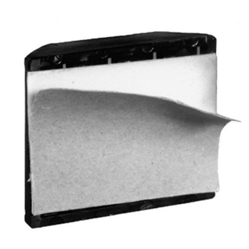 Peter Meier Camar Adhesive Mount Toe Kick Clip-Black 228-AD-E2