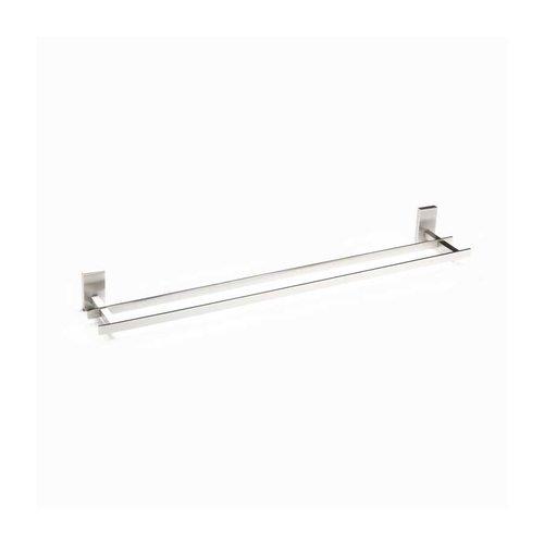 "R. Christensen 24"" Double Towel Bar Brushed Nickel 6322-3BPN-P"