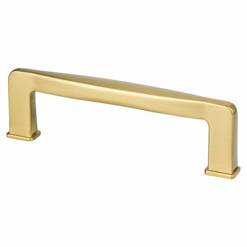 Berenson Subtle Surge Pull 3-3/4 inch Center to Center Modern Brushed Gold 1246-1MDB-P