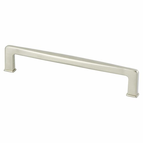 Berenson Subtle Surge Pull 6-5/16 inch Center to Center Brushed Nickel 1254-1BPN-P