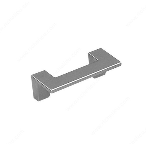 Sleek 2-1/2 Inch Center to Center Matte Chrome Cabinet Pull <small>(#2169164174)</small>