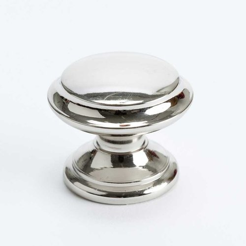 Berenson Designers Group 10 1-3/8 Inch Diameter Polished Nickel Cabinet Knob 4152-1014-P
