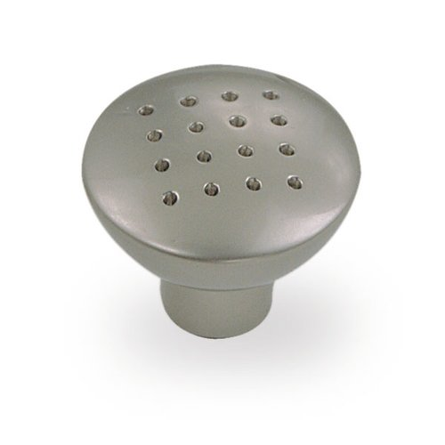 Geo 1-1/4 Inch Diameter Flat Pewter Cabinet Knob <small>(#59040)</small>