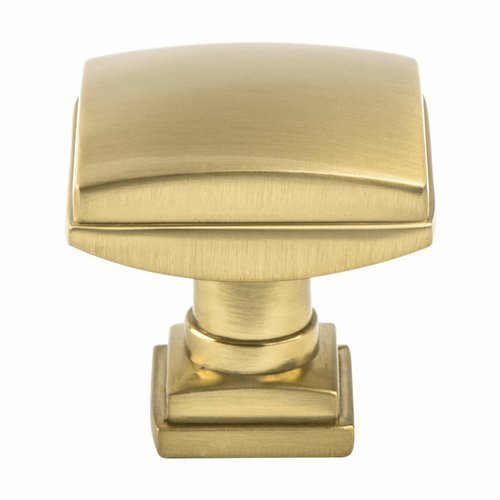 Berenson Tailored Traditional Knob 1-1/4 inch Diameter Modern Brushed Gold 1276-1MDB-P