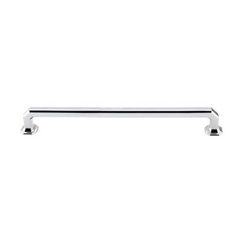 Top Knobs Chareau 9 Inch Center to Center Polished Chrome Cabinet Pull TK290PC