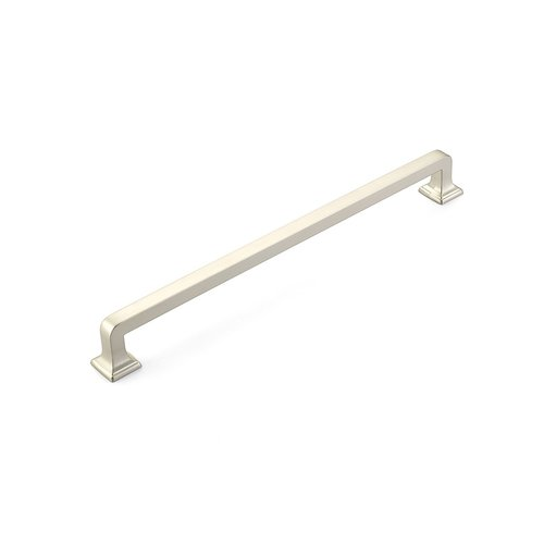 Schaub and Company Menlo Park 15 Inch Center to Center Satin Nickel Appliance Pull 535-15