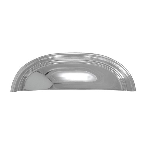 Hickory Hardware American Diner 3-3/4 Inch Center to Center Chrome Cabinet Cup Pull P2144-CH