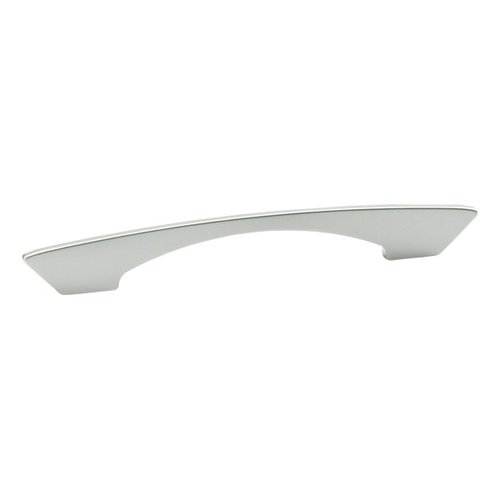 Schaub and Company Italian Designs Profile 6-5/16 Inch Center to Center Matte Chrome Cabinet Pull 247-128/160-M26
