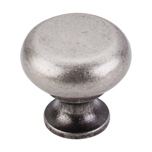 Top Knobs Somerset 1-1/4 Inch Diameter Pewter Antique Cabinet Knob M275