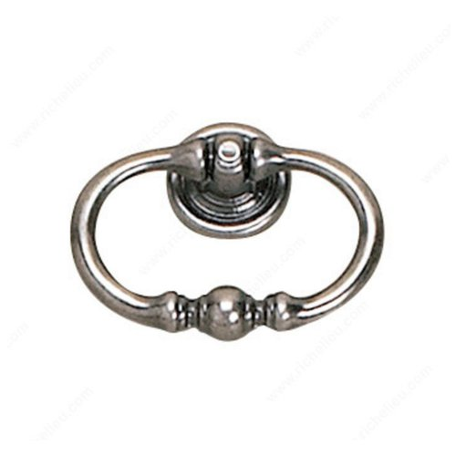 Richelieu Povera 2-3/16 Inch Diameter Faux Iron Cabinet Ring Pull 927055904