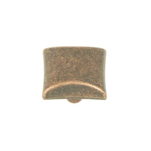Stone Mill Hardware Milan 1-1/8 Inch Diameter Antique Copper Cabinet Knob CP82356-AC