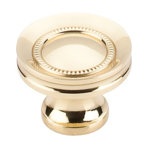 Top Knobs Somerset 1-1/4 Inch Diameter Polished Brass Cabinet Knob M290