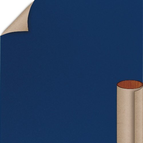Nevamar Regimental Blue Textured Finish 4 ft. x 8 ft. Countertop Grade Laminate Sheet S3016T-T-H5-48X096