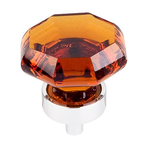 Top Knobs Crystal 1-3/8 Inch Diameter Wine Crystal Cabinet Knob TK138PC