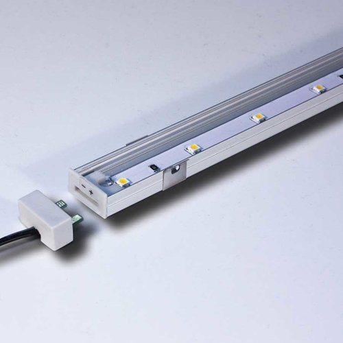8 inch High Output LED Strip 3000K Nickel <small>(#L-LED-SMP8-WNI-1)</small>