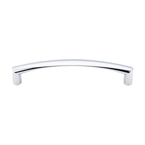 Top Knobs Nouveau 5-1/16 Inch Center to Center Polished Chrome Cabinet Pull M392