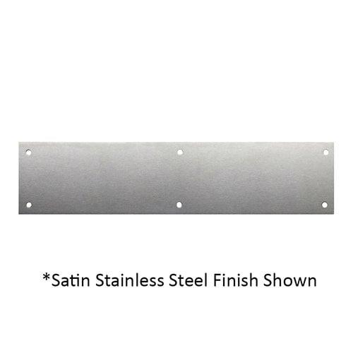 Don-Jo 3 inch x 15-1/2 inch Door Push Plate Oil Rubbed Bronze 70-613