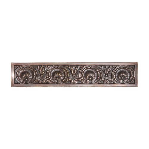 King's Road 4 Inch Center to Center Dark Brass Cabinet Pull <small>(#NHP-608-DB)</small>