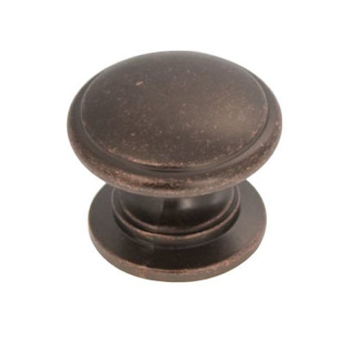 Hickory Hardware Williamsburg 1-1/4 Inch Diameter Dark Antique Copper Cabinet Knob P3053-DAC