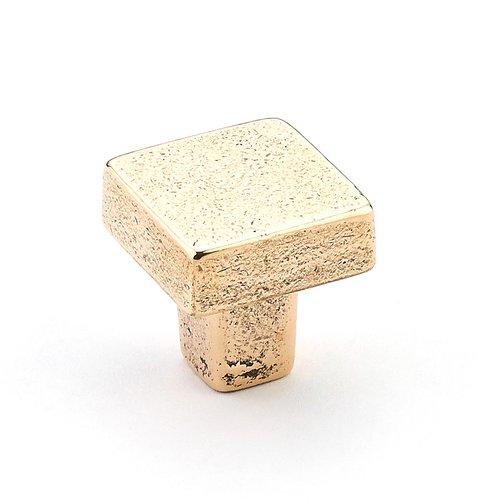 """Schaub and Company Vinci Designs Knob 1-3/16"""" Dia. Natural Bronze 789-NB"""