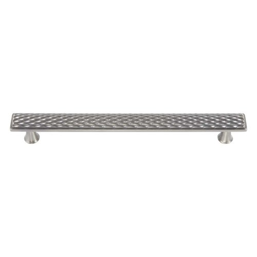 Atlas Homewares Mandalay 6-5/16 Inch Center to Center Brushed Nickel Cabinet Pull 239-BRN