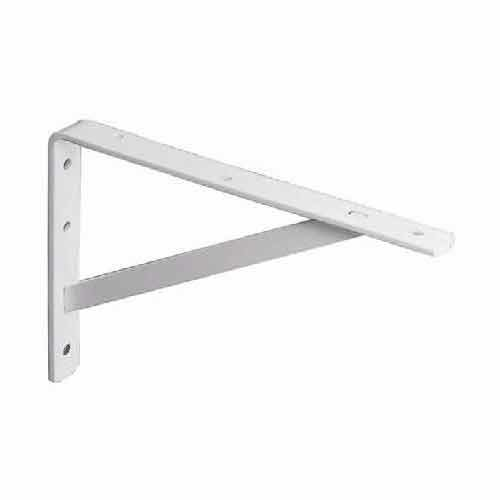 "Knape and Vogt 208 Ultimate L Bracket 16"" White 208 WH 400"