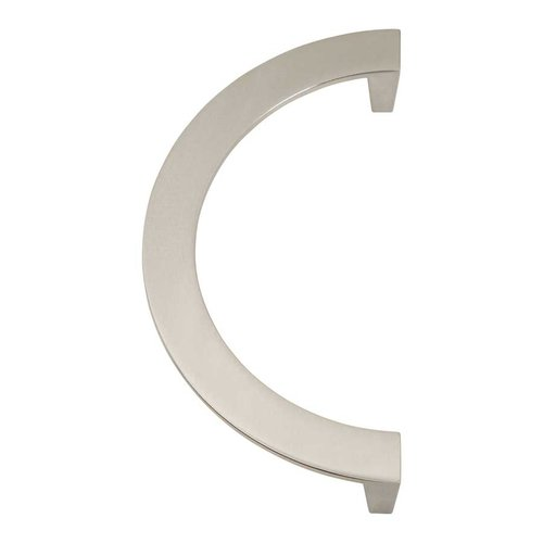 Roundabout 5-1/16 Inch Center to Center Brushed Nickel Cabinet Pull <small>(#355-BRN)</small>