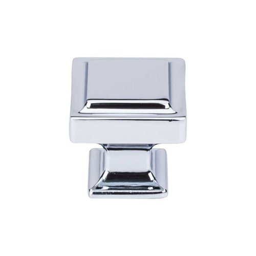 Top Knobs Transcend 1-1/4 Inch Diameter Polished Chrome Cabinet Knob TK702PC