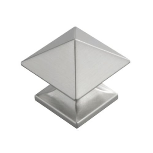 Hickory Hardware Studio 1 Inch Diameter Satin Nickel Cabinet Knob P3014-SN
